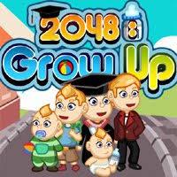 Play 2048 Grow up
