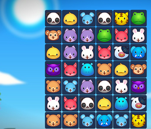 Play Animals Connect 3