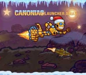 Play Canoniac Launcher Xmas