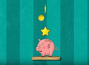 Play Cut the Cord – Piggy Bank