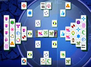 Play Dark Time Mahjong
