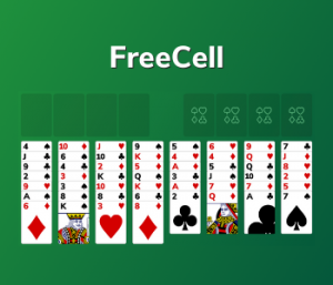 Play Freecell Solitaire
