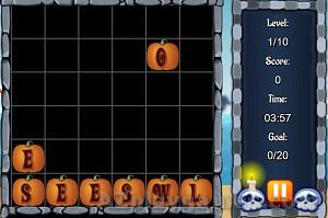 Play Halloween Words