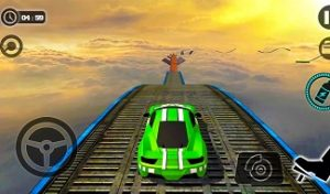 Play Impossible Car Stunts 3D