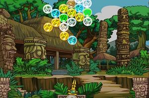 Play Mayan Marbles